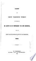 Lijsten van nieuw verschenen werken