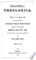 Bibliotheca Theologica