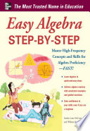 Easy Algebra Step by Step