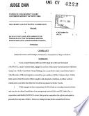 Bawag P S K Bank F R Arbeit Und Wirtschaft Und Sterreichische Postsparkasse Aktiengesellschaft Securities And Exchange Commission Litigation Complaint