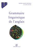 Grammaire linguistique de l'anglais Book