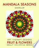 Adult Coloring Book: Mandala Seasons (Free Sample)