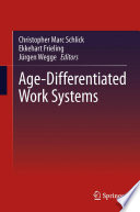 Age Differentiated Work Systems book