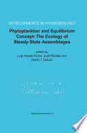 Phytoplankton and Equilibrium Concept  The Ecology of Steady State Assemblages