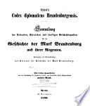 Codex diplomaticus Brandenburgensis