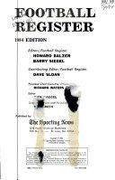 Football Register  1984