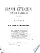 Le grandi invenzioni antiche e moderne opera compilata da B  Besso