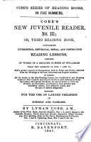 Cobb's New Juvenile Reader, No. III