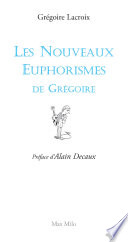 illustration Les nouveaux euphorismes de Grégoire