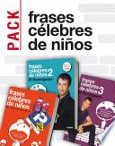 Pack Frases c  lebres de ni  os de El hormiguero  3 ebooks