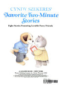 Cyndy Szekeres' Favorite Two-minute Stories : lost, and do things all children do....