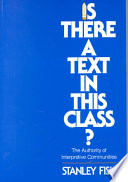 Is There a Text in this Class