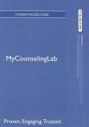 The Professional Counselor New Mycounselinglab With Pearson Etext Standalone Access Card