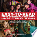 Easy-to-Read Facts of Religious Holidays Celebrated Around the World - Holiday Books for Children | Children's Holiday Books
