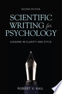 Scientific Writing For Psychology