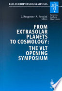 From Extrasolar Planets to Cosmology