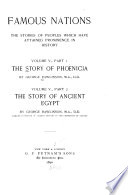 The Story of Phoenicia   The Story of Ancient Egypt Book PDF