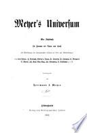 Meyer s Universum f  r