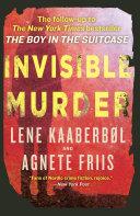Invisible Murder Starring Red Cross Nurse Nina Borg Following