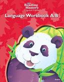 Reading Mastery Language Arts Strand Grade K Workbook A B