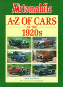A Z of Cars of the 1920s
