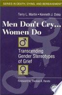 Men Don t Cry   Women Do