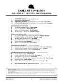 Bulletin Of Primitive Technology
