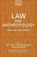 Law and Anthropology