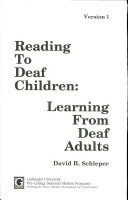Reading to deaf children