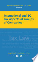 International and EC Tax Aspects of Groups and Companies