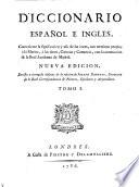 Diccionario Espanol E Ingles     Nueva Ed   Londres  Piestre 1786   hisp