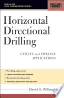Horizontal Directional Drilling  HDD