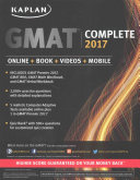 GMAT Complete 2017