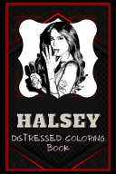 Book Halsey Distressed Coloring Book