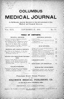 Columbus Medical Journal