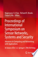 Proceedings Of International Symposium On Sensor Networks Systems And Security