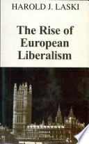 The Rise of European Liberalism  An Essay in Interpretation