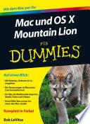 Mac und OS X Mountain Lion für Dummies