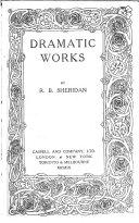 Dramatic Works Book PDF
