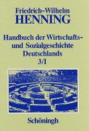 Deutsche Wirtschafts- und Sozialgeschichte im Ersten Weltkrieg und in der Weimarer Republik 1914 bis 1932