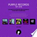 Purple Records 1971 1978