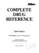 2000 Complete Drug Reference