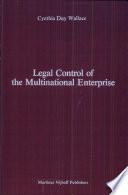 Legal Control of the Multinational Enterprise