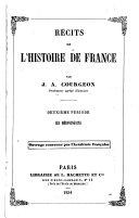 Récits et épisodes de l'histoire de France