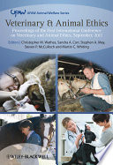 Veterinary And Animal Ethics