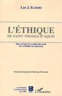 L Thique De Saint Thomas D Aquin
