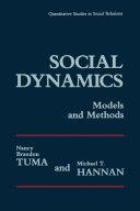 Social Dynamics Models and Methods
