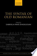 The Syntax of Old Romanian