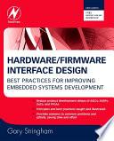 Hardware Firmware Interface Design book
