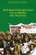 Movimientos sociales en la España del siglo XX